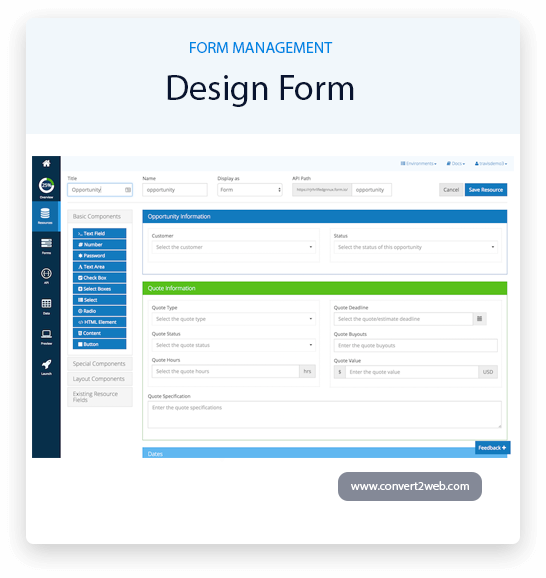 design-form