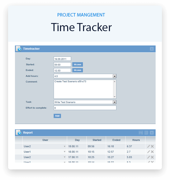 project-timetracker